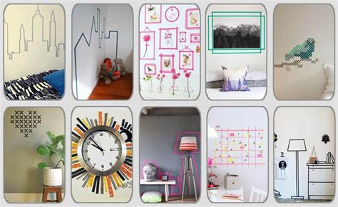 decorar paredes washi tape 10 ideas geniales para decorar paredes con washi tape