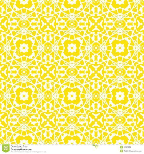 geometric pattern yellow vector geometric art deco pattern in bright yellow stock
