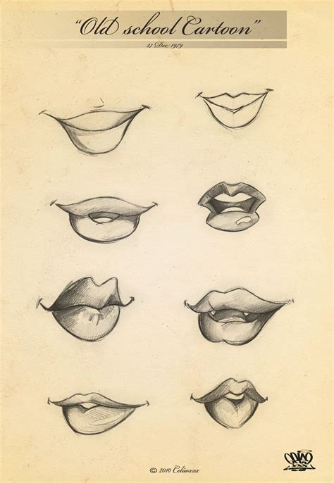 Drawing Mouths by Page 35 Mouths By Celaoxxx Deviantart Sketch