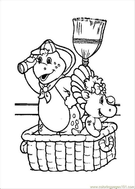 barney coloring pages pdf coloring pages barney 07 cartoons gt barney free