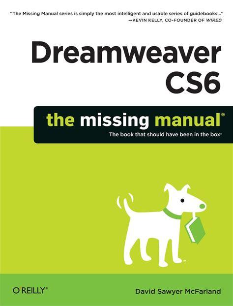 tutorial adobe dreamweaver cs6 pdf indonesia dreamweaver cs6 the missing manual p2p releaselog