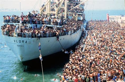 refugee boat north queensland a western paradise the 1991 albanian exodus to italy