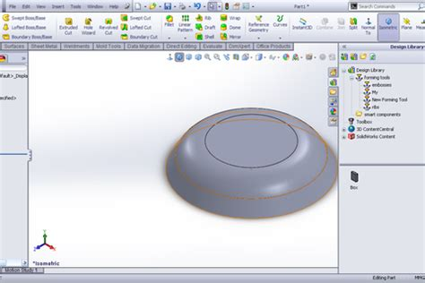solidworks tutorial forming tool solidworks forming tools tutorial download free software