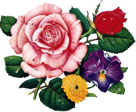 flores imagenes que se mueven růže gif
