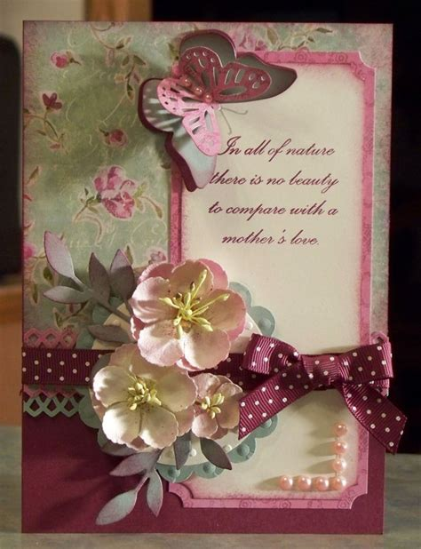 Easy And Beautiful Handmade Birthday Cards - beautiful handmade birthday card or s day with
