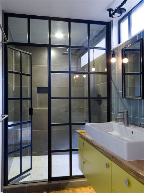 Modern Bathroom Doors Glass Shower Door Cost Bathroom Contemporary With Bath