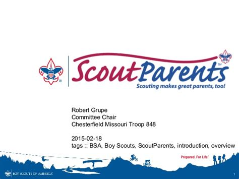 boy scout business card template boy scout parents introduction