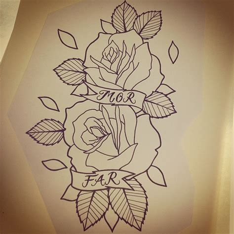 old school rose tattoo school designs best designs