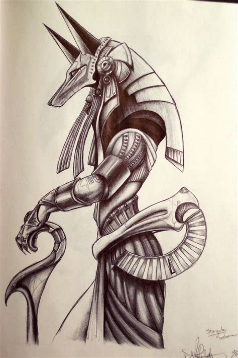 god tattoo design 20 best anubis designs