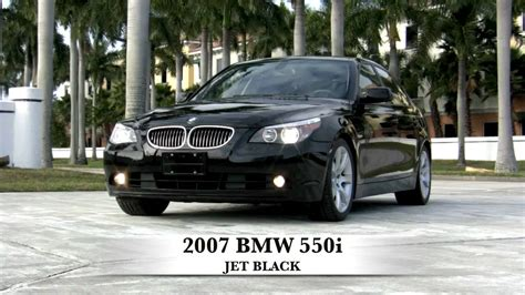 2007 bmw 550i 2007 bmw 550i jet black sport sedan t2563c