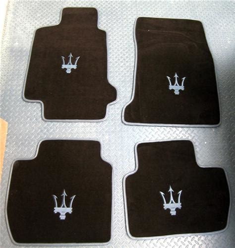 2004 2012 maserati quattroporte german velour front rear floor mats