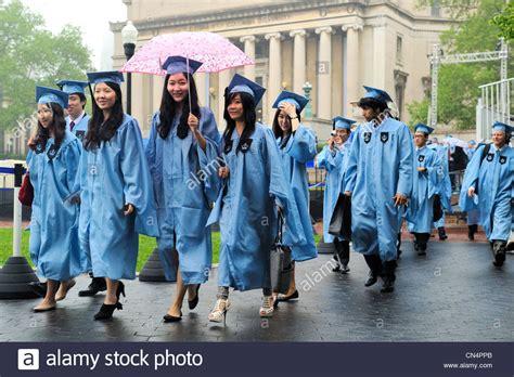 Columbia Mba Graduation by United States New York Manhattan Graduation At Columbia
