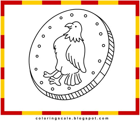 coloring pages printable for kids coin coloring pages for
