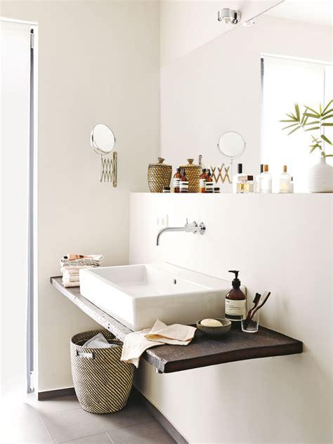 Wandbeleuchtung Bad by Nat 252 Rliche Materialien Und Sanfte Beiget 246 Ne F 252 Rs Bad