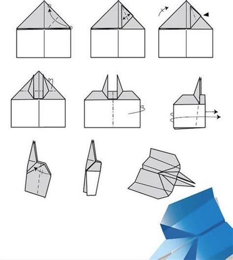 How To Make A Cool Paper Plane Step By Step - how to make cool paper planes step by step