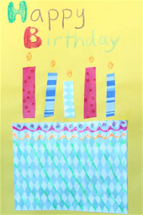 how to make cards for preschoolers birthday cards for to create how wee learn