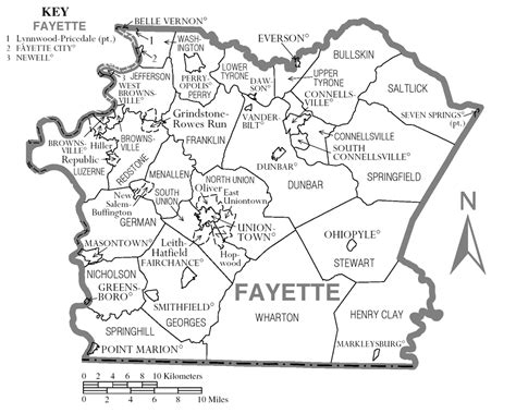 Fayette County Pa Property Records File Map Of Fayette County Pennsylvania Png