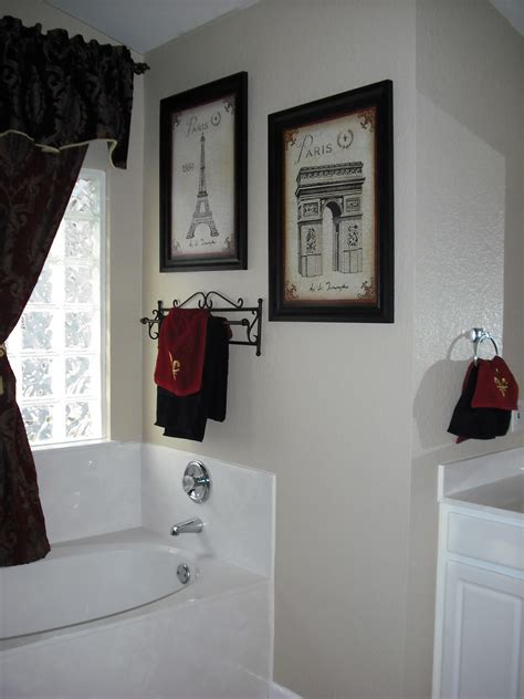 paris bathroom decorating ideas exactly what i want for master bath black and white paris