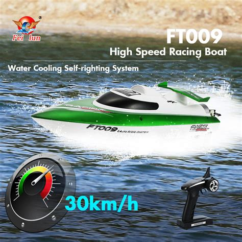 high speed rc racing boat original feilun ft009 2 4g 30km h high speed rc racing