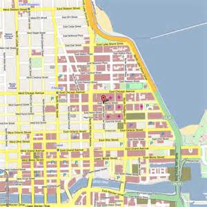 Map Of Hotels In Chicago cambria chicago magnificent mile illinois hotel