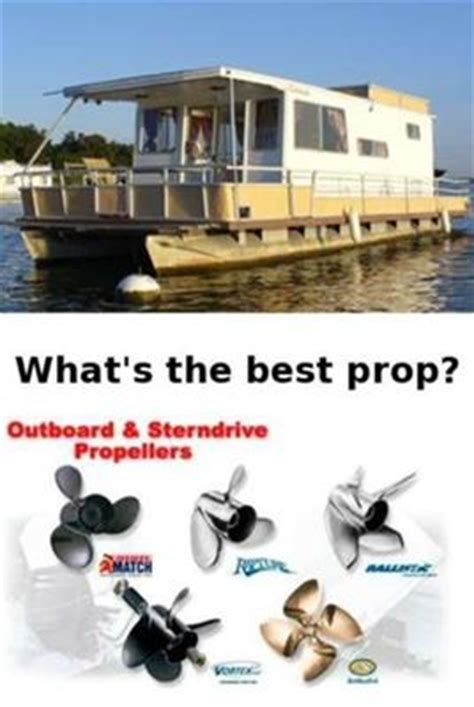 houseboat propellers how many blades material for the - House Boat Props