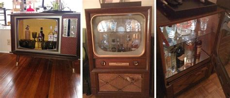8 DIY Inspirations: From Old TV To A Bar   wastehunter.com