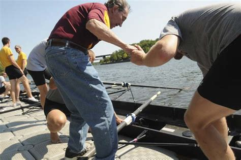 row the boat umn ollie bogen started rowing as therapy then started umn team
