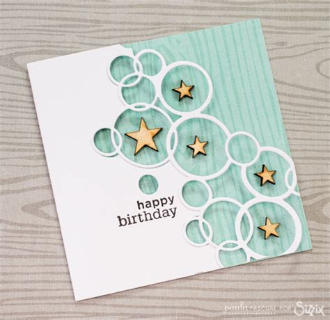 Birthday Card Inspiration Bubble Birthday Cards Daily Inspiration From Our Bloggers