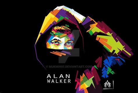alan walker logo vector alan walker wpap by mukmin97 on deviantart