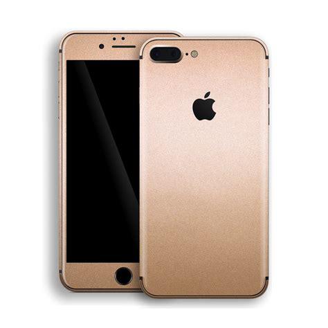 iphone 8 plus luxuria gold metallic skin easyskinz