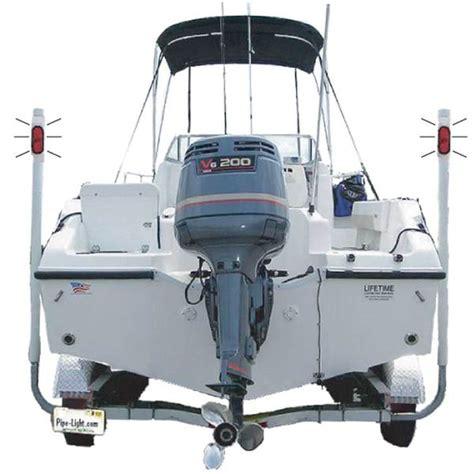 led boat trailer lights west marine pipe light raised led light kit for wide trailer west marine