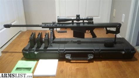 50 Bmg Sniper by Armslist For Sale Barrett M107 50 Caliber 50 Bmg