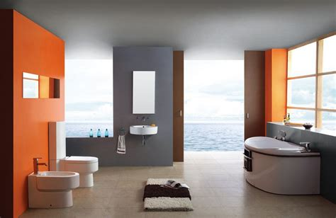 orange and grey bathroom seaside hotel bathroom gray and orange download 3d house