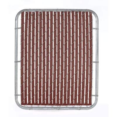 casa verde 5 ft reddish brown fence slat vs003123rd060