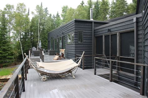 Deck Architecture by R Cottage Modern Deck Other By Bios Architecture