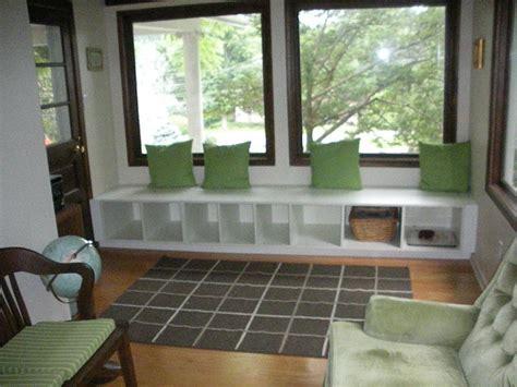 ikea window bench seat akurum pantry and base into window seat ikea hackers