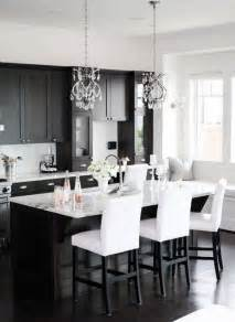 black cabinet kitchen ideas black and white kitchen ideas
