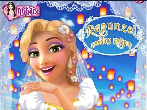 juegos de rapunzel juegos de tangled rapunzel rapunzel maquillaje de boda