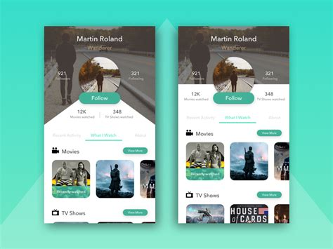 user profile layout in android android profile screen ui design inspiration on air code