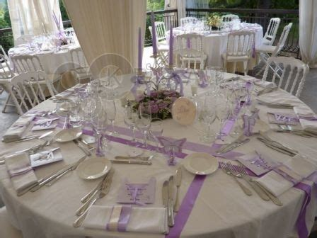Chemin De Table Ronde Mariage 2054 by Table Ronde Chemins De Table Rubans