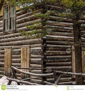 Old House Plans historic log cabin in colorado stock photo image 41768888