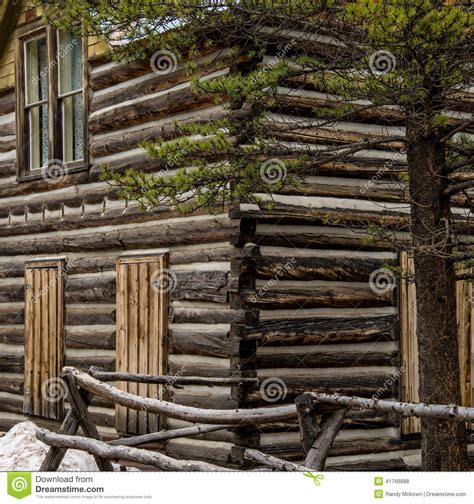 The House Designers House Plans historic log cabin in colorado stock photo image 41768888