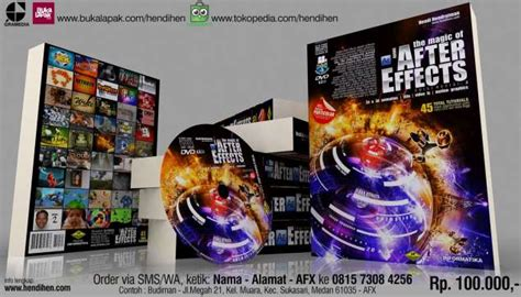 tutorial after effects cs3 bahasa indonesia buku after effects tutorial video efek animasi 2d the