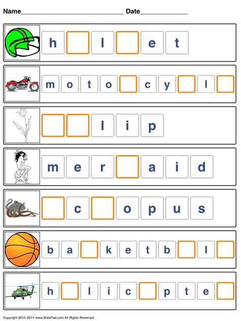 Spelling Words Printable Worksheets by 17 Best Ideas About Spelling Worksheets On