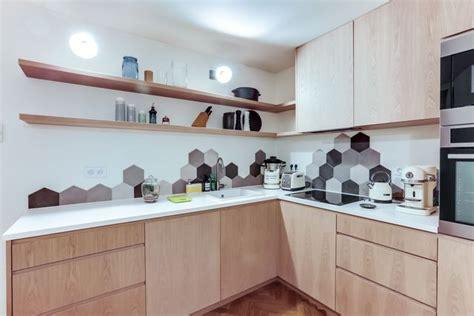 cr馘ence cuisine carreaux de ciment cuisine carreaux ciment 12 photos de cuisines tendance