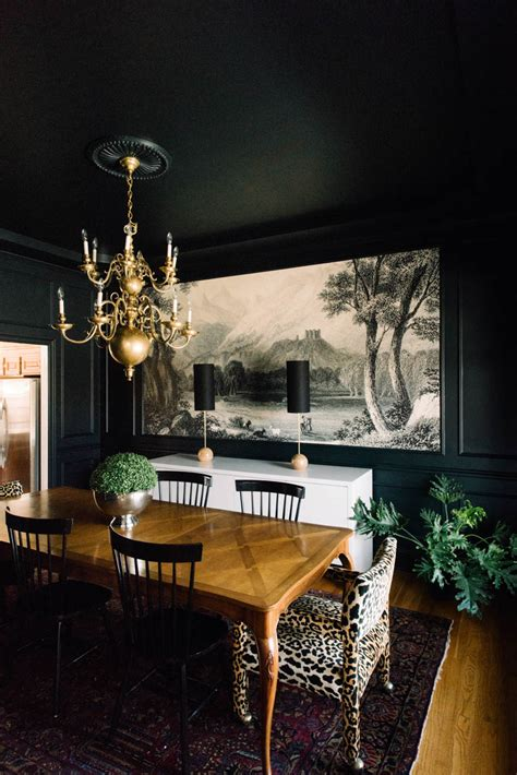 dark walls paint it black 15 bold and beautiful dark walls design