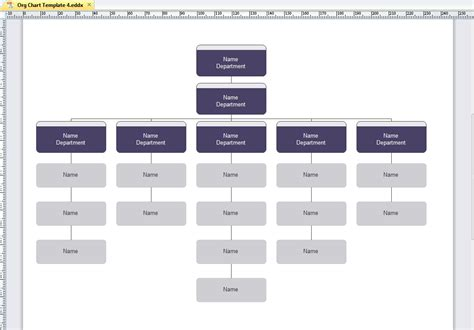 Organization Chart Template Tryprodermagenix Org Corporate Org Chart Template