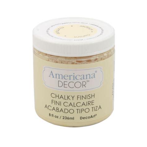 Americana Decor Chalky Finish by Americana Decor Chalky Finish Paint 8oz 240ml