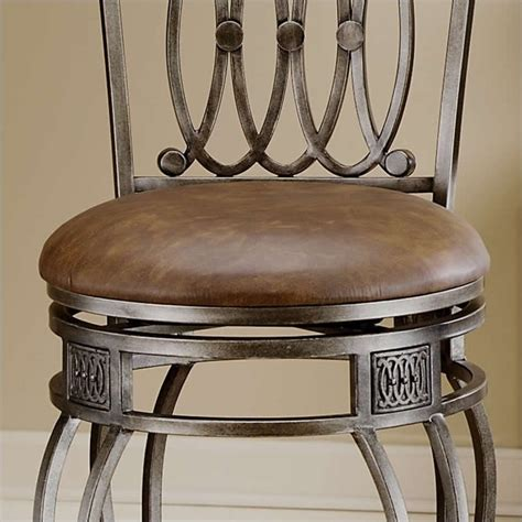32 inch swivel bar stools hillsdale montello 32 quot swivel antique finish bar stool ebay