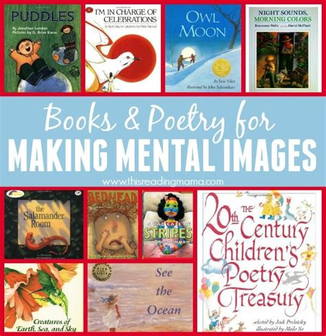 picture books to teach visualization visualizing mental images with poetry kid